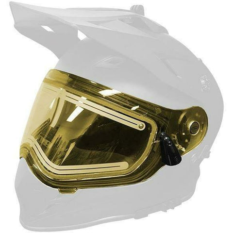 509 Heated Dual Shield 2.0 for Delta R3 Helmets 2019 - Yellow Tint