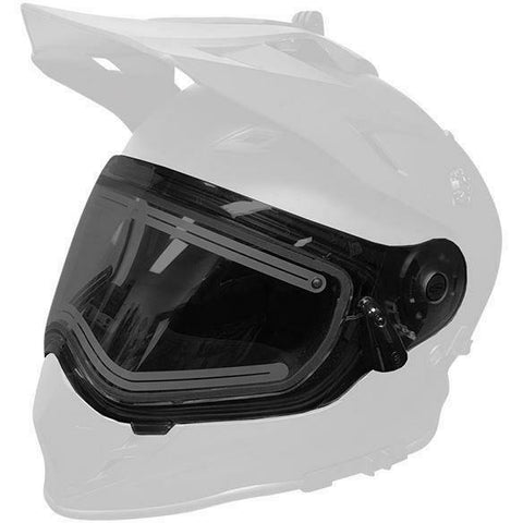509 Heated Dual Shield 2.0 for Delta R3 Helmets 2019 - Smoke Tint