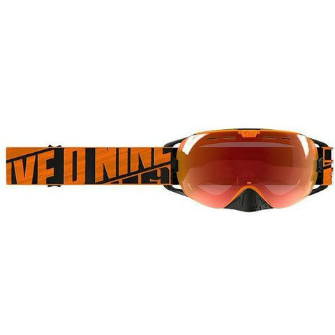 509 Revolver Snow Goggle Goggles 509 2019 Particle Orange Fire Mirror/Rose Tint