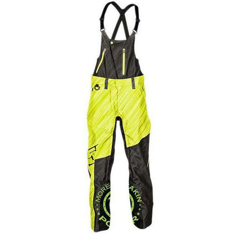 509 Stoke Bib Shell 2019 Pants & Bibs 509 Stealth/Hi-Vis X-Small