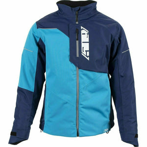 501 Range Insulated Jacket 21 509 2021 Cyan Navy XS