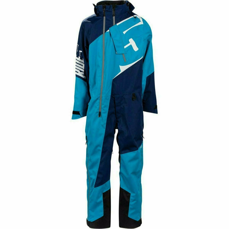 501 Allied Insulated Mono Suit 21 509 2021 Cyan Navy XS
