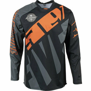 501 R-Series Windproof Jersey 21 509 2021 Dark Ops with Orange SM
