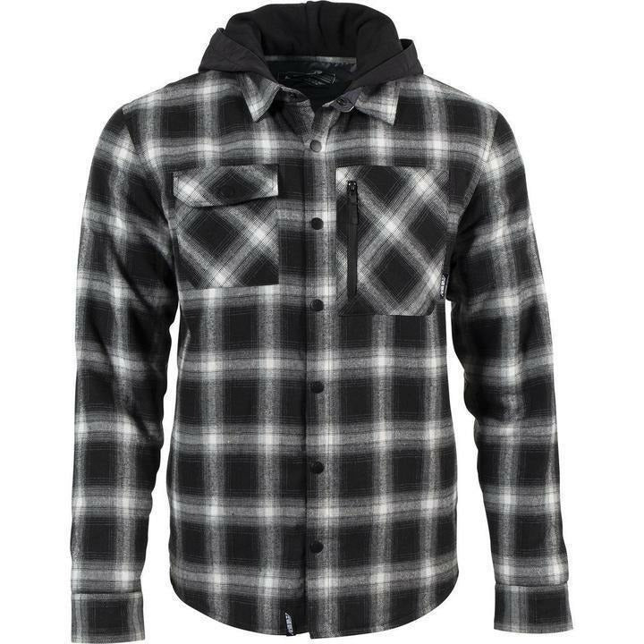 509 Tech Flannel 21 Casual 509 Black/Gray Check 21 SM