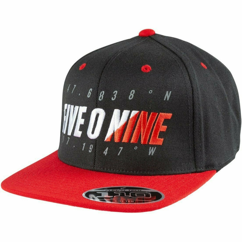 509 Coordinates Flex Snapback Hat Hat 509 MX 2021 Red Mist ONE SIZE FITS ALL