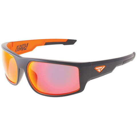 FXR Core Sunglasses Sunglasses FXR Charcoal/Orange OS