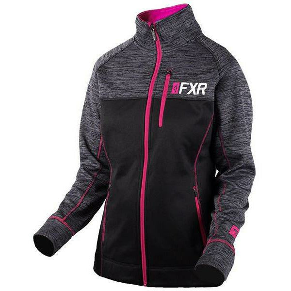 FXR Elevation Women's Tech Zip-up | Sale Casual FXR Black/Fuchsia XS