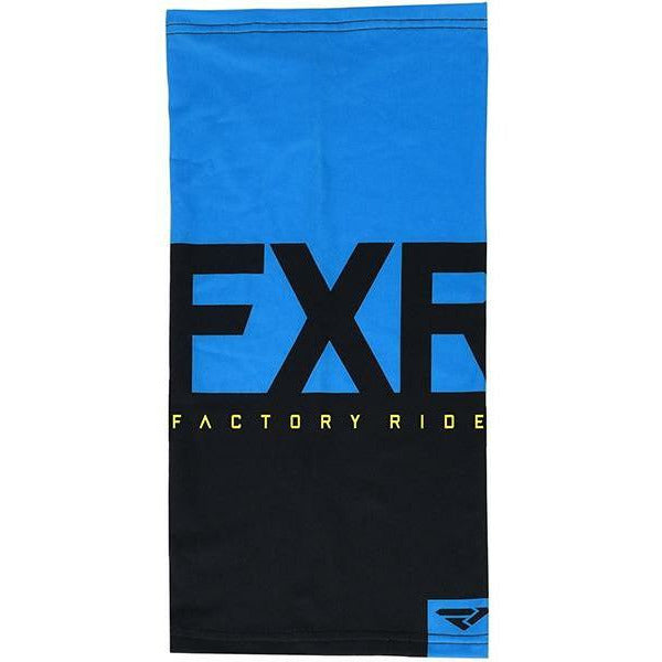 FXR Helium Lite Neck Gator 2020 Layers FXR Black/Blue OS