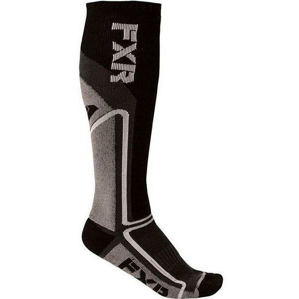 FXR Mission Mens Performance Socks Footwear FXR Charcoal OS