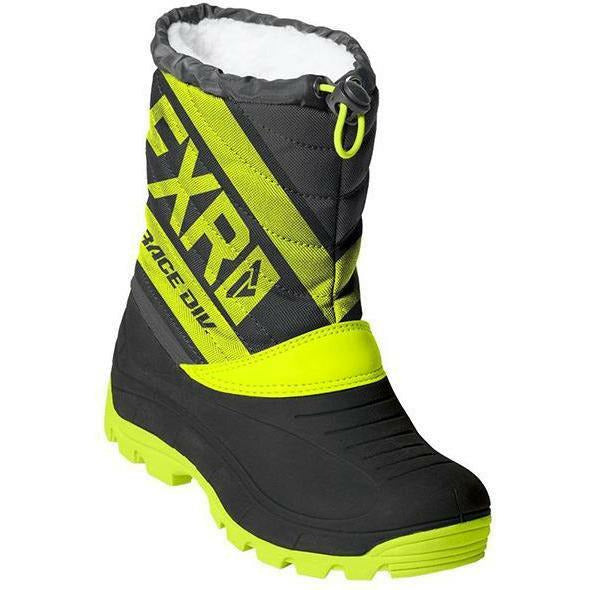 FXR Octane Youth Boot Footwear FXR Back/Hi Vis/Char 7\8, 25\26