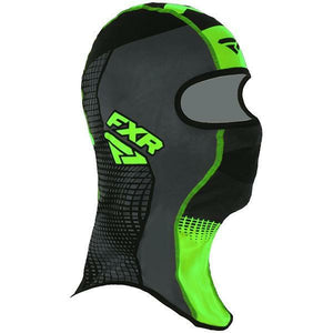 FXR Shredder Tech Balaclava 2020 Balaclava FXR Black/Char/Lime S