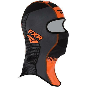 FXR Shredder Tech Balaclava 2020 Balaclava FXR Black/Char/Orange S