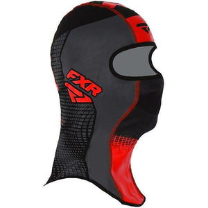 FXR Shredder Tech Balaclava 2020 Balaclava FXR Black/Char/Red S