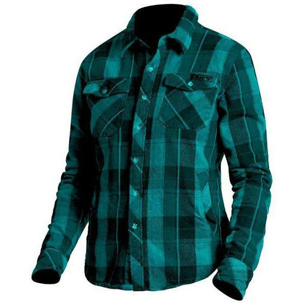 FXR Timber Plaid Women's Shirt Casual FXR Teal/Black XS