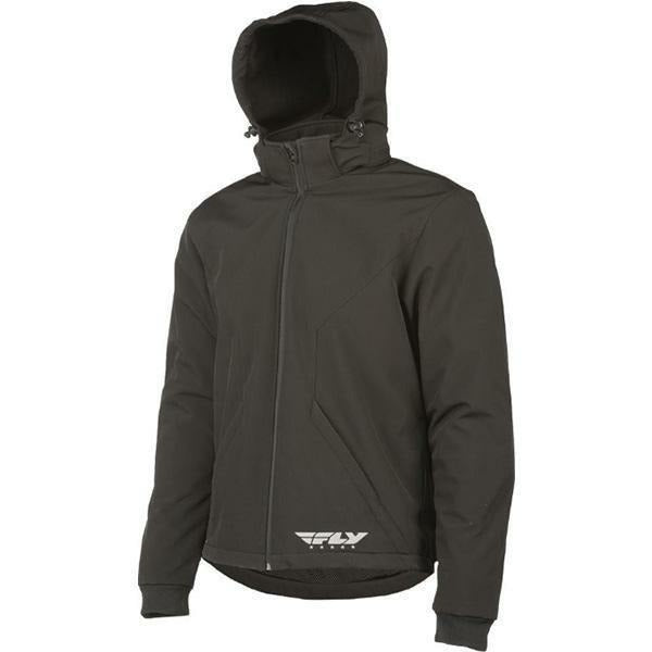Fly Racing Armored Tech Hoodie Jacket Body Armor Fly Racing BLACK 3X