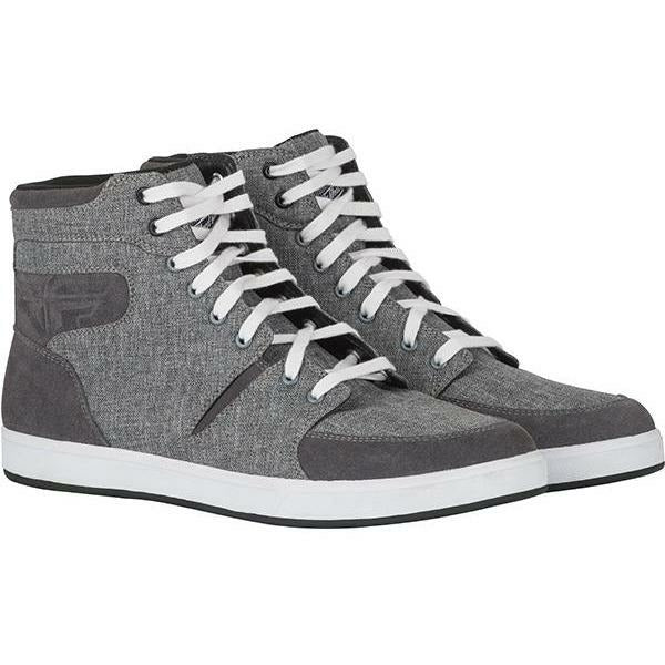 Fly Racing M16 Canvas Riding Shoes Footwear Fly Racing GREY 08