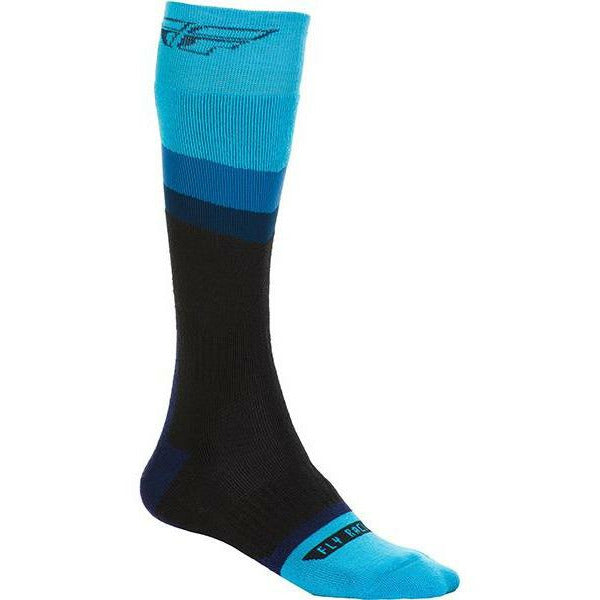 Fly Racing MX Socks Footwear Fly Racing BLUE/BLACK YOUTH
