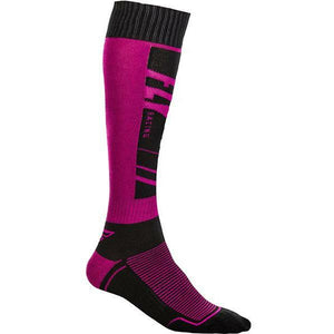 Fly Racing MX Socks Footwear Fly Racing BLUE/PURPLE YOUTH