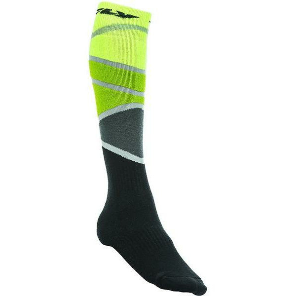 Fly Racing MX Socks Footwear Fly Racing THICK LIME GREEN/BLACK YOUTH