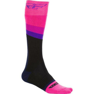 Fly Racing MX Socks Footwear Fly Racing PINK/BLACK YOUTH