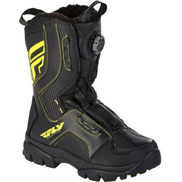 Fly Racing Marker Boa Boots Footwear Fly Racing Black/Hi-Vis 7