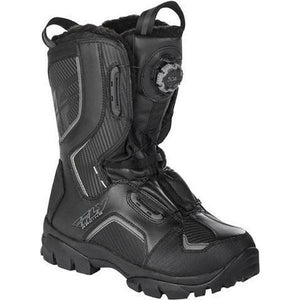 Fly Racing Marker Boa Boots Footwear Fly Racing Black 7