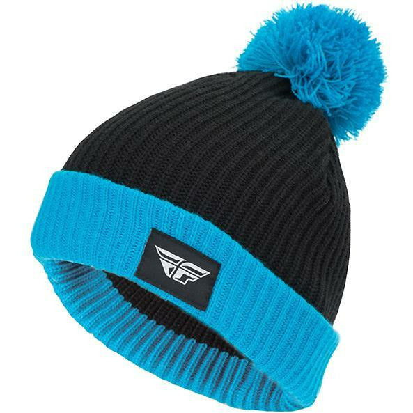 Fly Racing Pom Beanie Beanie Fly Racing BLUE/BLACK
