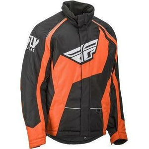 Fly Racing SNX Pro Mens Snow Jacket Black