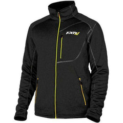 FXR Trekker Sherpa Tech Men's Zip-up Jacket FXR Black/HiVis Medium