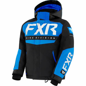 FXR Helium Child's Jacket 21 FXR 2021 Black/Blue/White 2