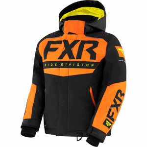 FXR Helium Child's Jacket 21 FXR 2021 Black/Orange/Hi Vis 2