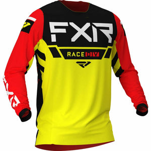 FXR Helium MX Jersey 21 FXR 2021 Yellow/Black/Red XS