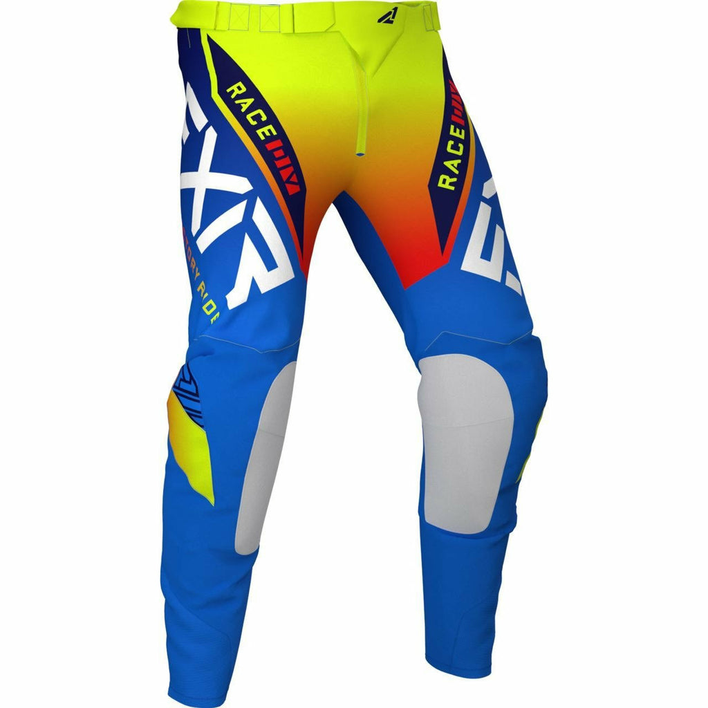 FXR Helium MX Pant 21 FXR 2021 Blue/Hi Vis/Red 28