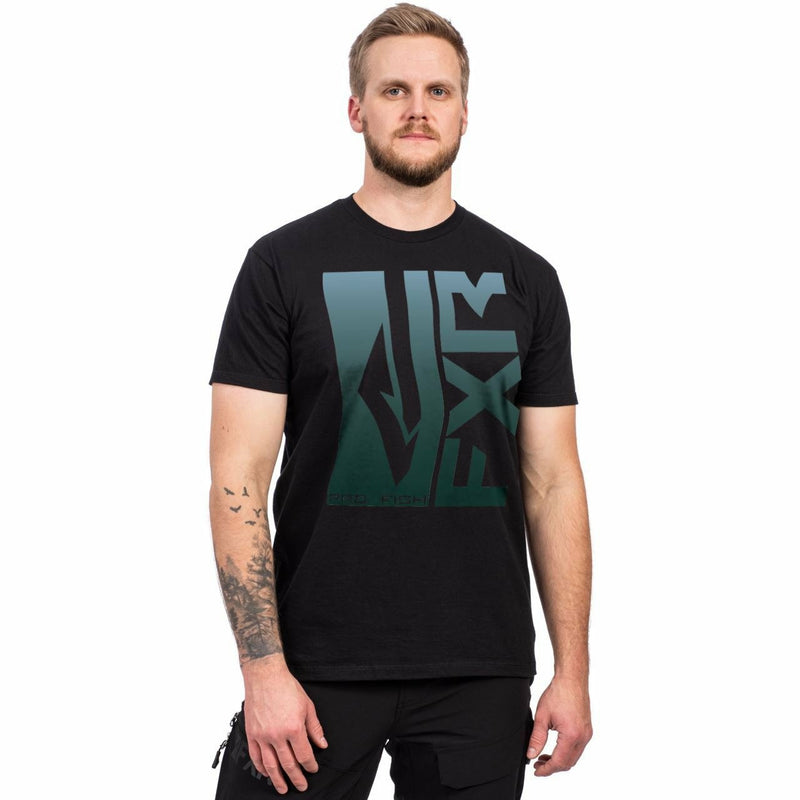 FXR M Hook'd T-Shirt Casual FXR Black/Steel S