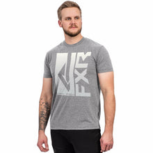 FXR M Hook'd T-Shirt Casual FXR Grey Heather/Bone S