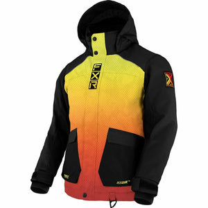FXR Kicker Child's Jacket 21 FXR 2021 Inferno/Black 2