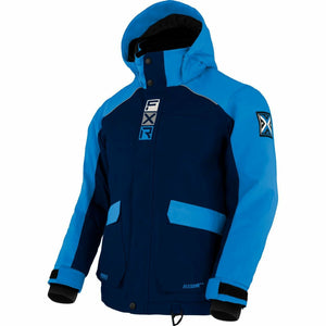FXR Kicker Child's Jacket 21 FXR 2021 Navy/Blue/Bone 2