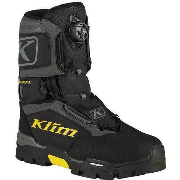 Klim Klutch GTX BOA - New Footwear Klim Black 7
