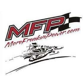 MFP Performance Crew T-Shirt Vintage Logo T-Shirt MoreFreakinPower Red Small