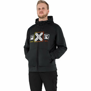 FXR Maverick Men's Tech Hoodie 21 FXR 2021 Black/Inferno S