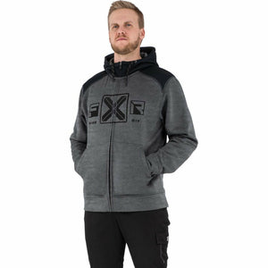 FXR Maverick Men's Tech Hoodie 21 FXR 2021 Grey Heather/Black S