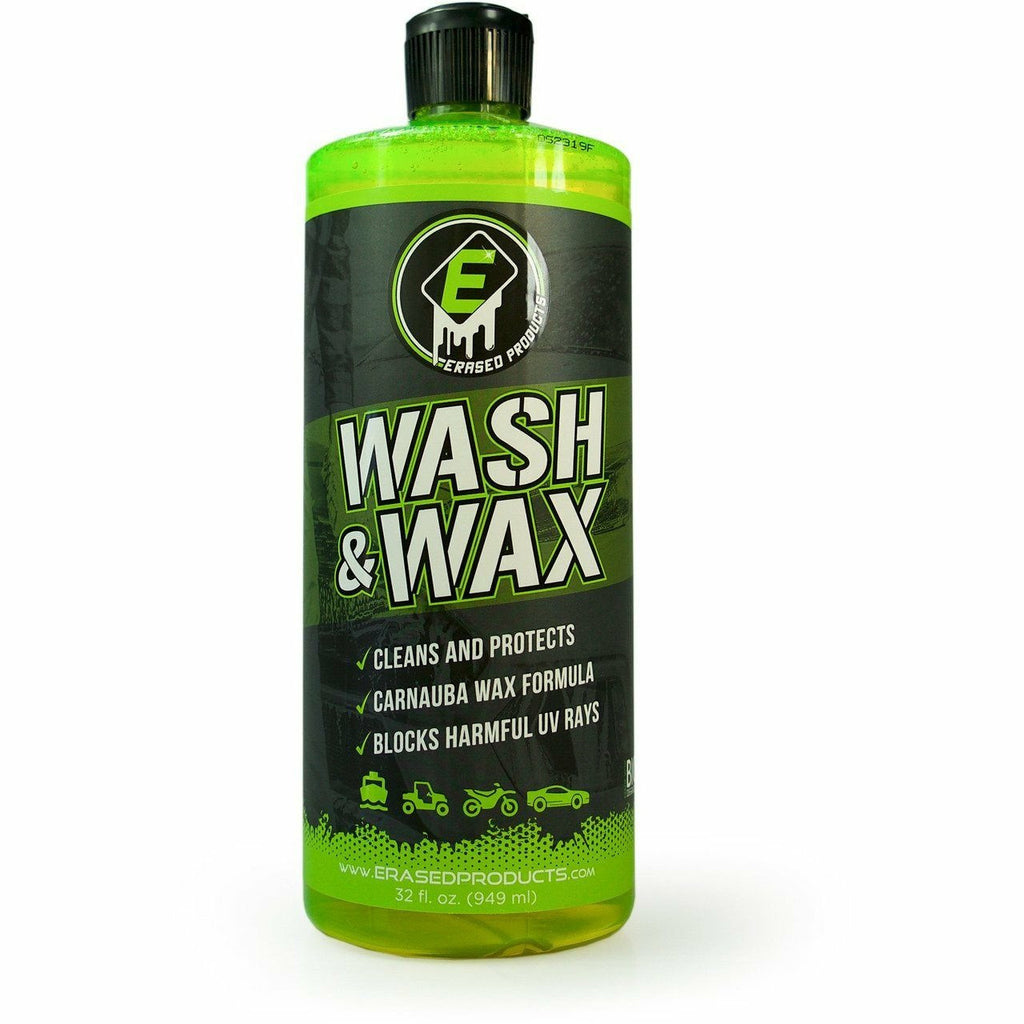 Erased Wash & Wax Cleaning Products Erased