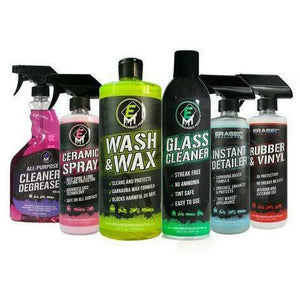 Erased Essential's Bundle Cleaning Products Erased