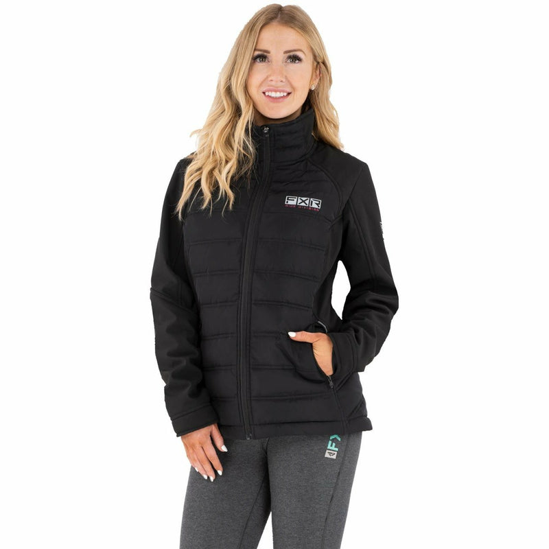 FXR Podium Hybrid Synthetic Down Women's Jacket 21 Casual FXR Black/Elec Pink XS