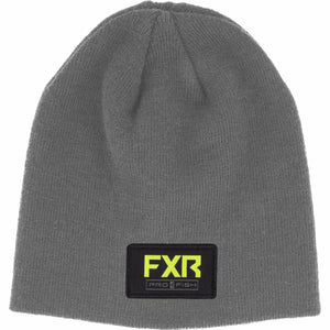 FXR Pro Fish Beanie 21 FXR 2021 Grey Heather/Hi Vis OS