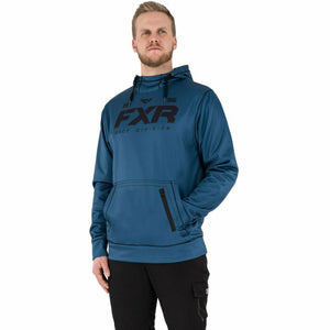 FXR Pursuit Tech Men's Pullover Hoodie 21 FXR 2021 Slate/Black S