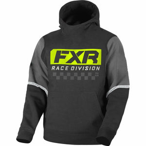 FXR Race Division Youth Tech PO Hoodie 21 Casual FXR Black/Hi Vis XS