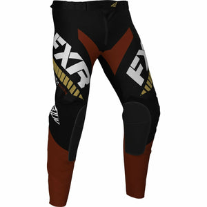 FXR Revo MX Pant 21 FXR 2021 Black/Rust/Gold 28