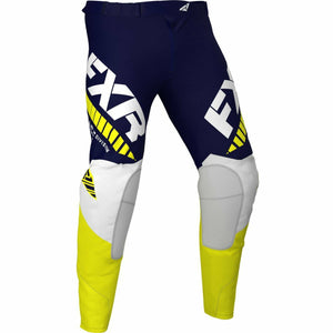 FXR Revo MX Pant 21 FXR 2021 Midnight/White/Yellow 28