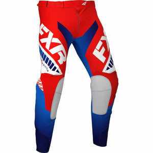 FXR Revo MX Pant 21 FXR 2021 Red/White/Blue 28